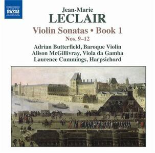 Sonate per violino op.1 n.9, n.10, n.11, n.12 - CD Audio di Jean-Marie Leclair,Adrian Butterfield