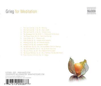 Grieg for Meditation - CD Audio di Edvard Grieg