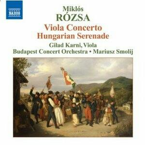 Concerto per viola op.37 - Serenata ungherese - CD Audio di Miklos Rozsa