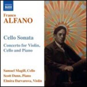 Concerto per violino, violoncello e pianoforte - Sonata per violoncello - CD Audio di Franco Alfano,Sam Magill