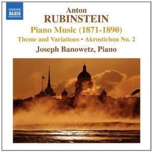 Tema e variazioni op.88 - Akrostichon n.2 - CD Audio di Anton Rubinstein