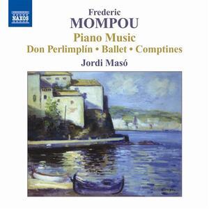 Opere per pianoforte vol.5 - CD Audio di Frederic Mompou