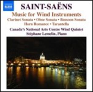Musica da camera per fiati - CD Audio di Camille Saint-Saëns