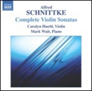 Sonate per violino - CD Audio di Alfred Schnittke