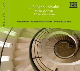 Concerti per Violino - CD Audio di Johann Sebastian Bach,Antonio Vivaldi