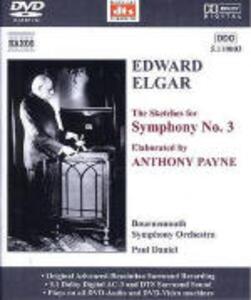 Sinfonia n.3 - DVD Audio di Edward Elgar