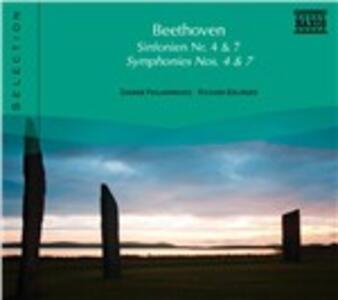 Sinfonie n.4, n.7 - CD Audio di Ludwig van Beethoven