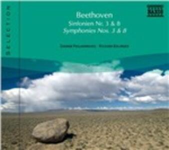 Sinfonie n.3, n.8 - CD Audio di Ludwig van Beethoven