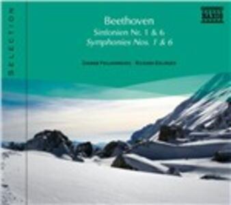 Sinfonie n.1, n.6 - CD Audio di Ludwig van Beethoven