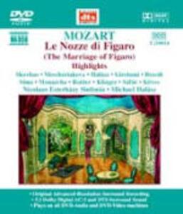 Le nozze di Figaro (Selezione) - DVD Audio di Wolfgang Amadeus Mozart