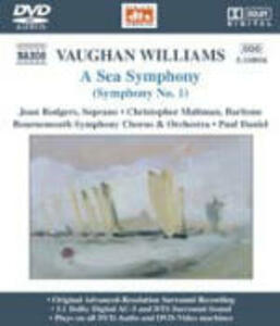 Sinfonia n.1 - DVD Audio di Ralph Vaughan Williams