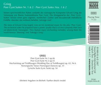 Peer Gynt Suites No. 1 - CD Audio di Edvard Grieg