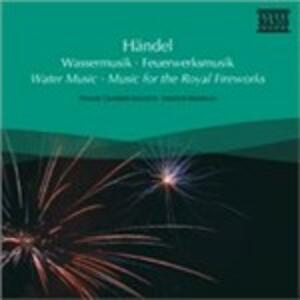 Water Music - CD Audio di Georg Friedrich Händel