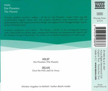Planets - CD Audio di Gustav Holst