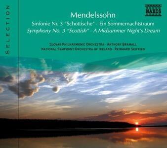 Sinfonia n.3 - CD Audio di Felix Mendelssohn-Bartholdy