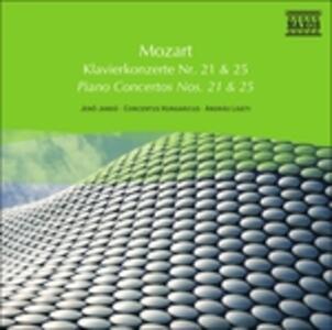 Concerti per Pianoforte No. 21 - CD Audio di Wolfgang Amadeus Mozart