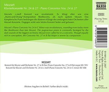 Concerti per Pianoforte No. 24 - CD Audio di Wolfgang Amadeus Mozart