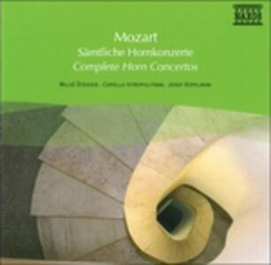 Complete Horn Concerto - CD Audio di Wolfgang Amadeus Mozart