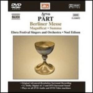 Berliner Messe - DVD Audio di Arvo Pärt