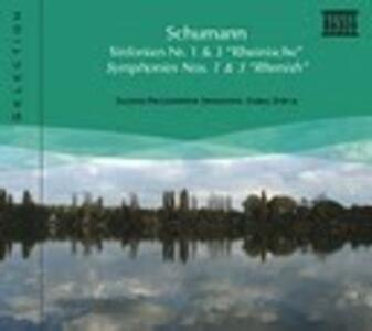 Sinfonie n.1, n.3 - CD Audio di Robert Schumann