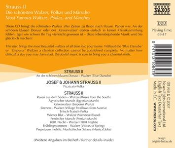 Most Famous - CD Audio di Johann Strauss - 2