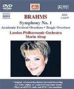 Sinfonia n.1 - Ouverture Tragica - DVD Audio di Johannes Brahms