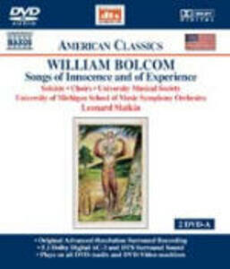 Songs of Innocence and Experience - DVD Audio di William Bolcom