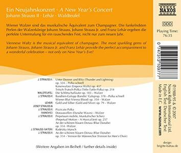 A New Year's Concert - CD Audio