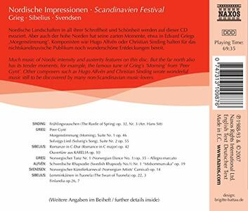 Scandinavian Festival - CD Audio