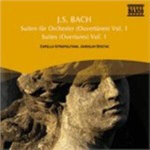 Orchestersuiten 1, 2 & 5 - CD Audio di Johann Sebastian Bach