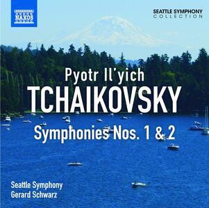 Sinfonia n.1 - CD Audio di Pyotr Il'yich Tchaikovsky,Seattle Symphony Orchestra