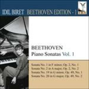 Sonate per pianoforte vol.1 - CD Audio di Ludwig van Beethoven