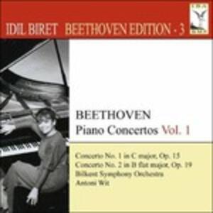 Concerti per Pianoforte vol.1 - CD Audio di Ludwig van Beethoven