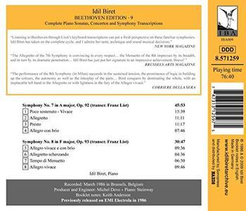 Symponies 3-Symphony No.7 - CD Audio di Ludwig van Beethoven,Franz Liszt