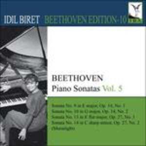 Sonate per pianoforte vol.5 - CD Audio di Ludwig van Beethoven
