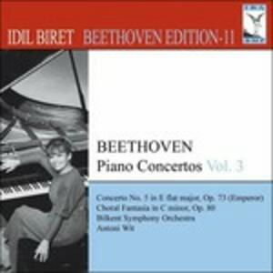 Concerti per Pianoforte vol.3 - CD Audio di Ludwig van Beethoven