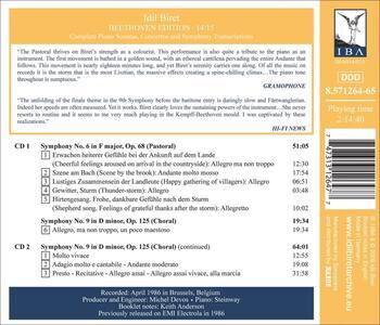 Beethoven Edition 14-15 - CD Audio di Ludwig van Beethoven,Idil Biret - 2