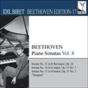 Sonate per pianoforte vol.8 - CD Audio di Ludwig van Beethoven