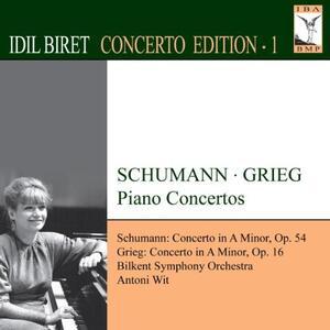Concerto per Piano in Aminore Op.54 - CD Audio di Edvard Grieg,Idil Biret
