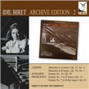 Archive 2 - CD Audio di Idil Biret