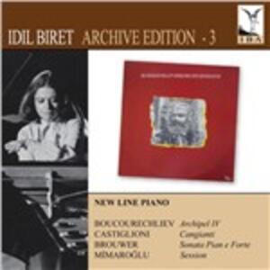 Archive 3 - CD Audio di Idil Biret