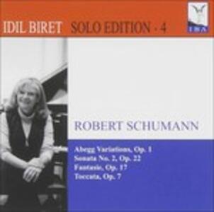 Abegg Variations Op.1 - CD Audio di Robert Schumann