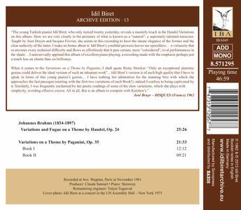 Archive Edition 13 - CD Audio di Idil Biret - 2