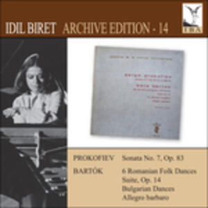 Archive Edition 14 - CD Audio di Idil Biret