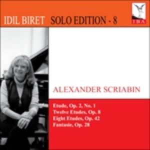 Biret Edition vol.8 - CD Audio di Alexander Nikolayevich Scriabin,Idil Biret