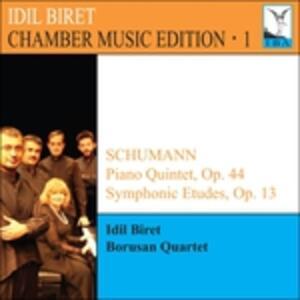 Quintetto con pianoforte op.44 - Studio sinfonico op.13 - CD Audio di Robert Schumann,Idil Biret