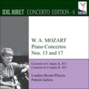 Concerti per pianoforte n.13 K415, n.17 K453 - CD Audio di Wolfgang Amadeus Mozart,Patrick Gallois
