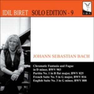 Chromatic Fantasia & Fugu - CD Audio di Johann Sebastian Bach