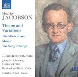 The Music Room e altre opere cameristiche - CD Audio di Raphael Wallfisch,Maurice Jacobson