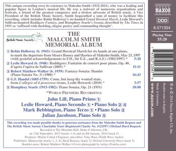The Malcolm Smith Memorial Album - CD Audio - 2